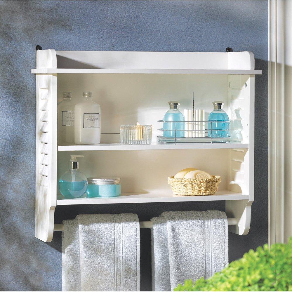 Wall shelf for bathroom